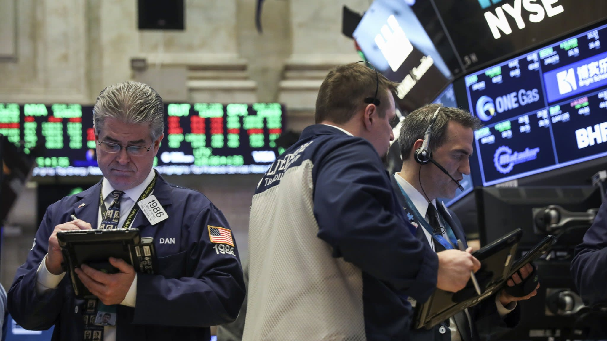 Shares in Faangs suffer their worst one-day loss
