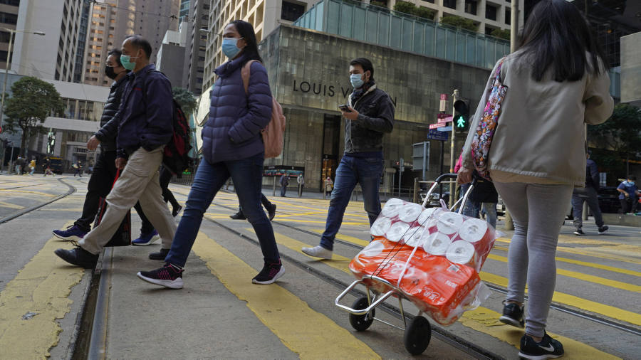 Hong Kong toilet roll heist underscores coronavirus panic-buying