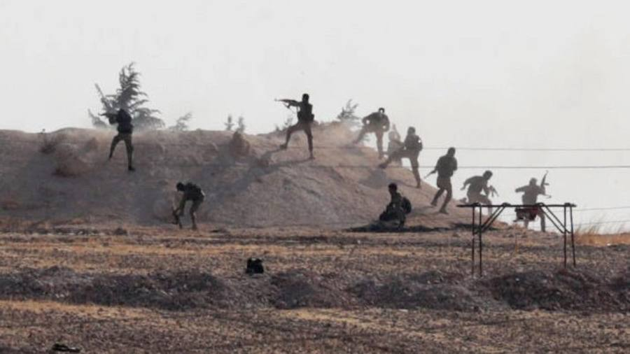 US pulls troops out of northeast Syria as Turkey assault intensifies