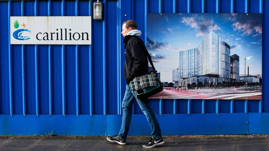 Carillion paid Slaughter and May millions for crisis advice