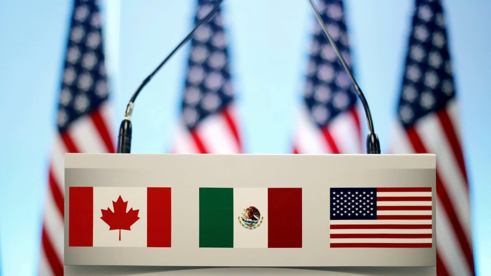 Canada and US negotiators reach Nafta deal