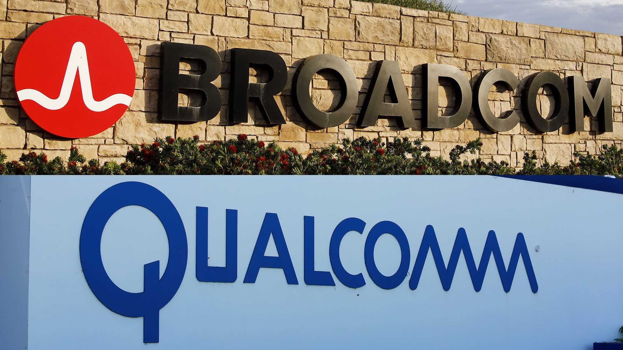 Broadcom lowers offer Qualcomm offer after new NXP deal