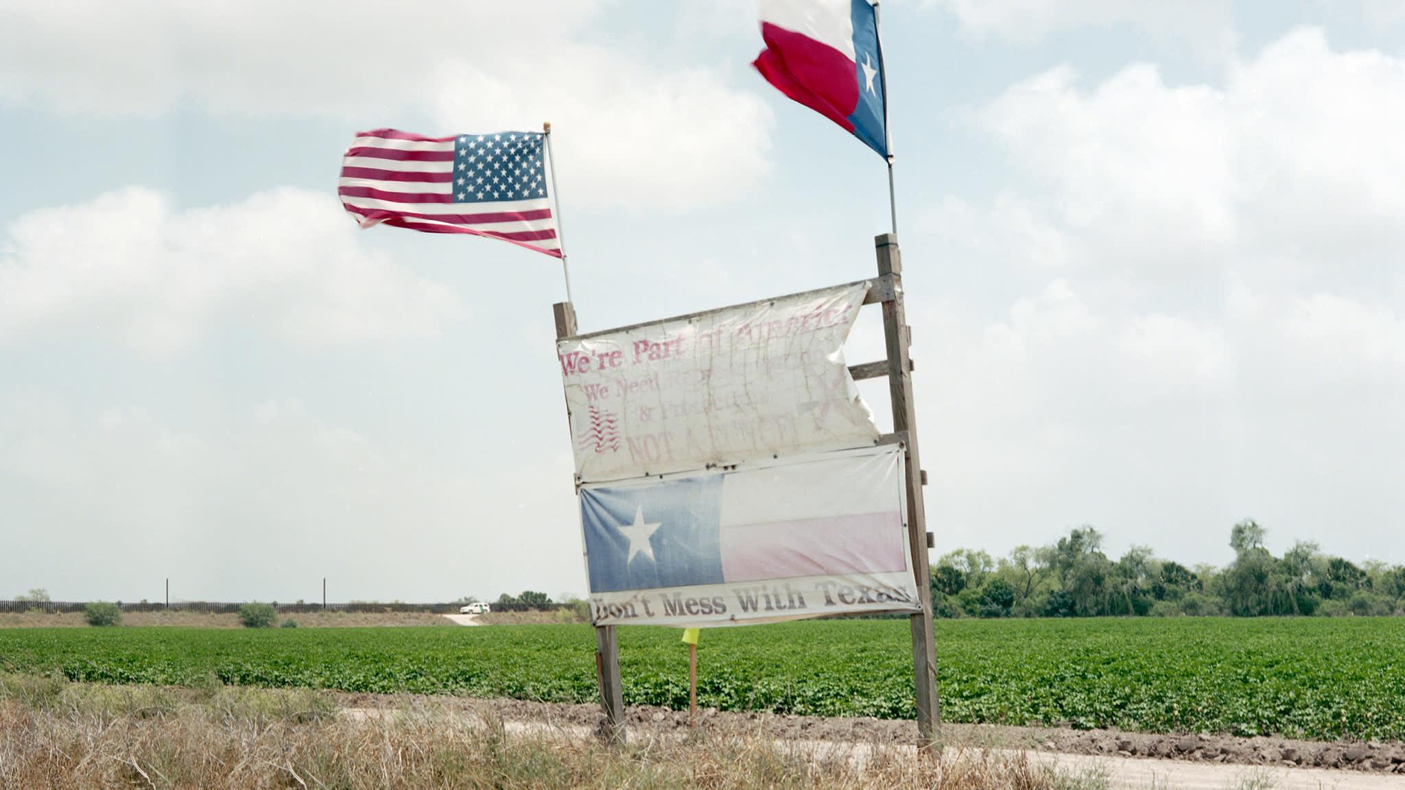 Life on the edge at Trump's border