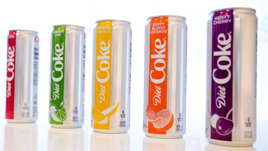 Diet Coke Revamp Adds Flavour To Coca Cola Results Financial Times
