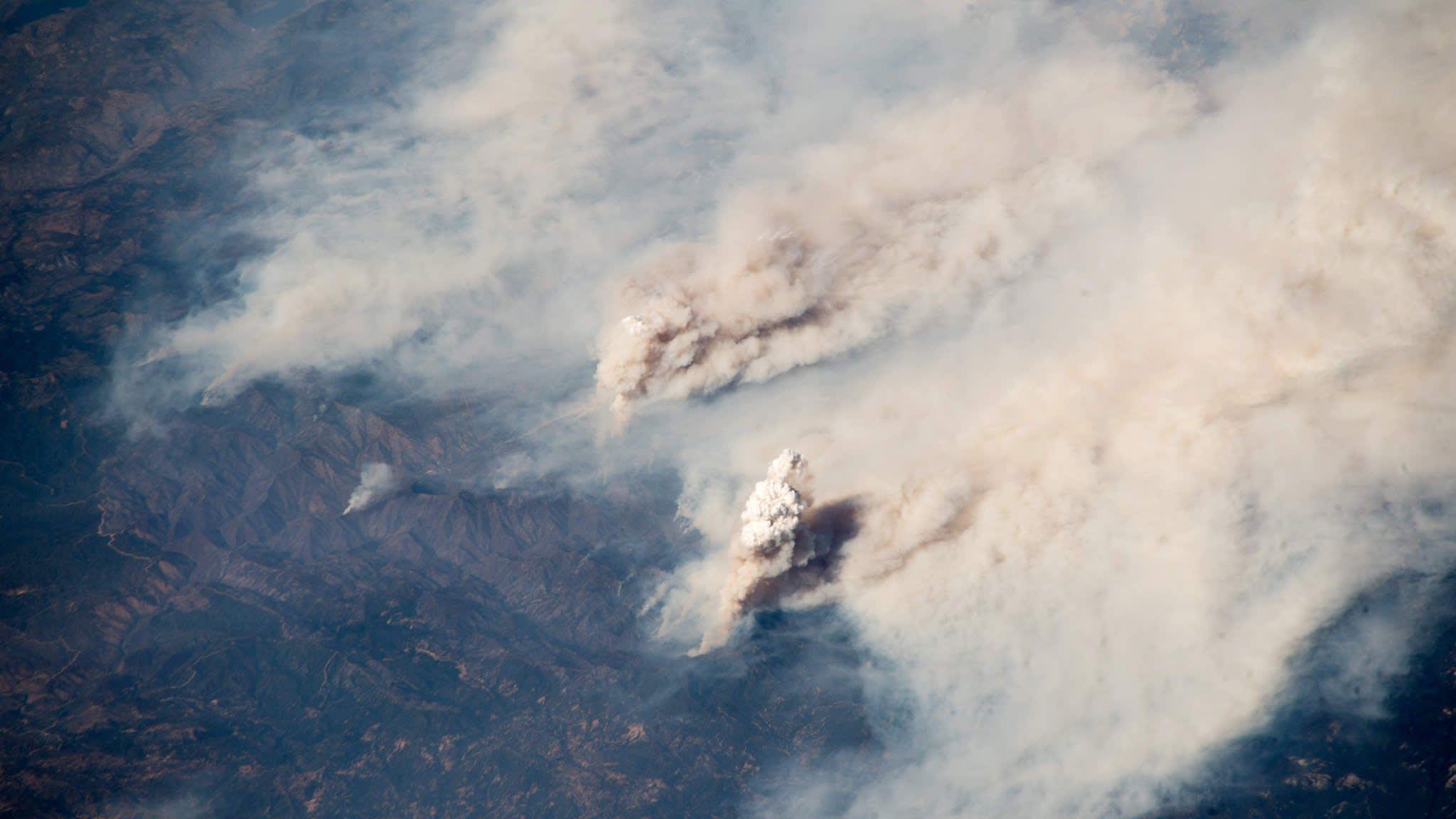 California battles biggest-ever wildfires