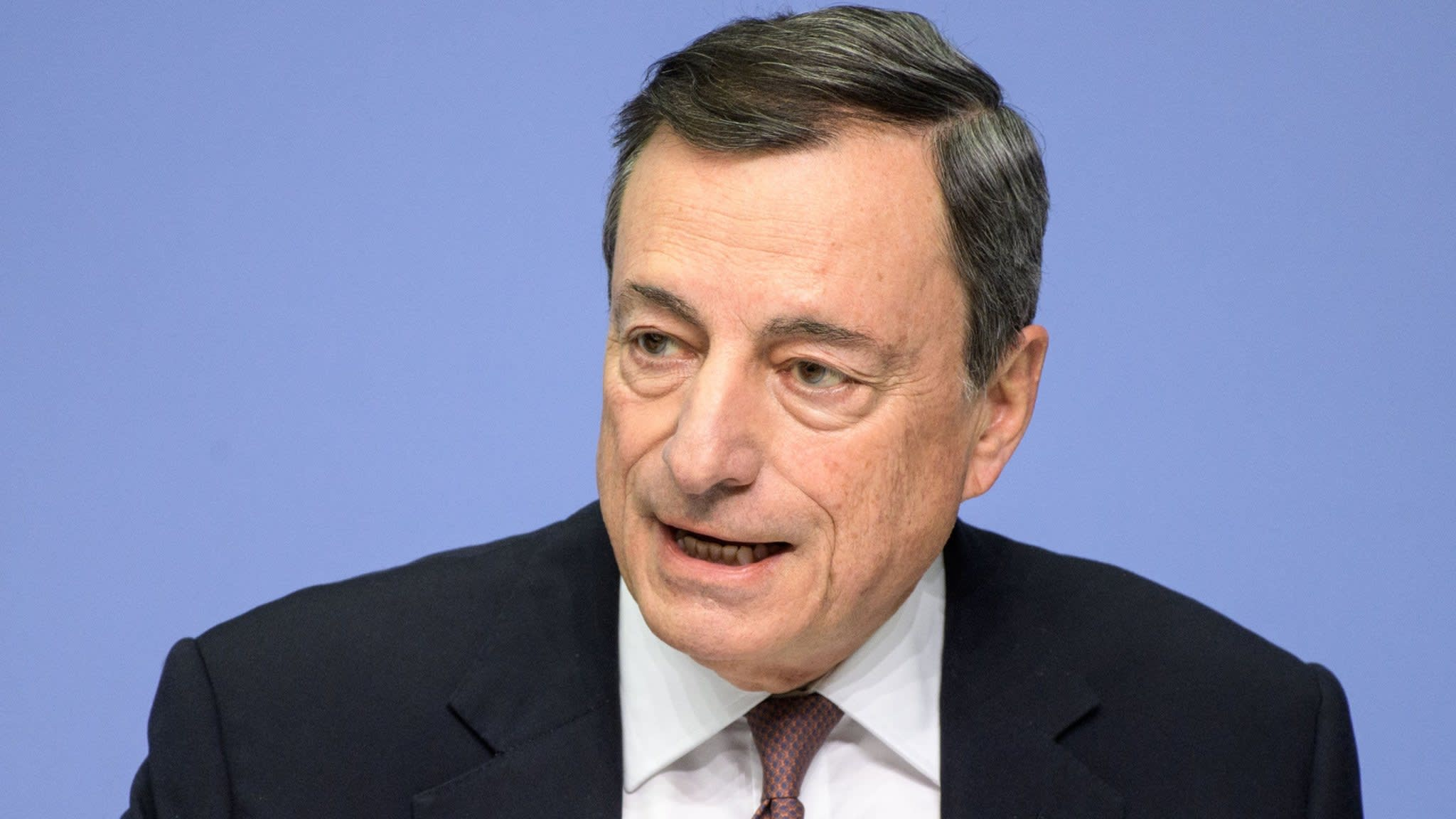 Draghi delivers bullish assessment of eurozone economic prospects