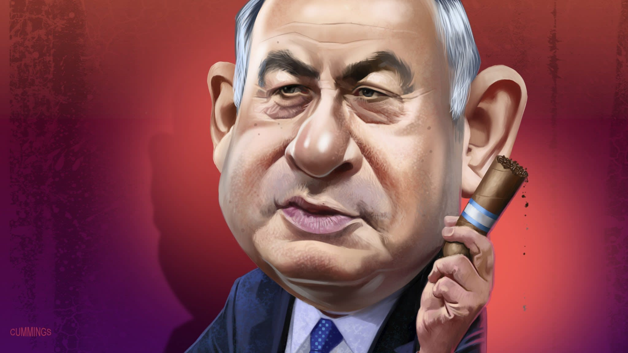 Benjamin Netanyahu: A fighter defending a legacy from flames