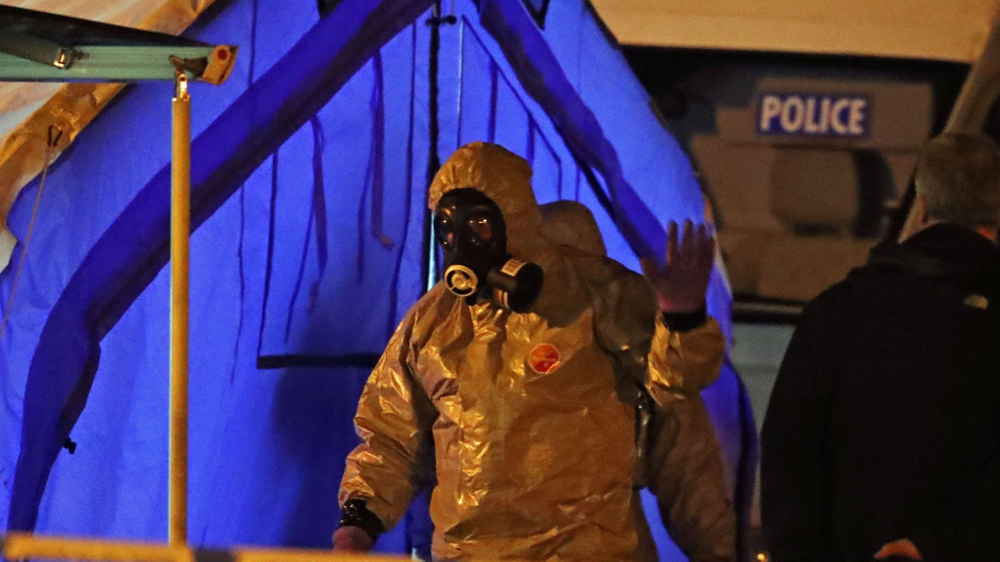 UK police say nerve agent used in attack on ex-Russian spy