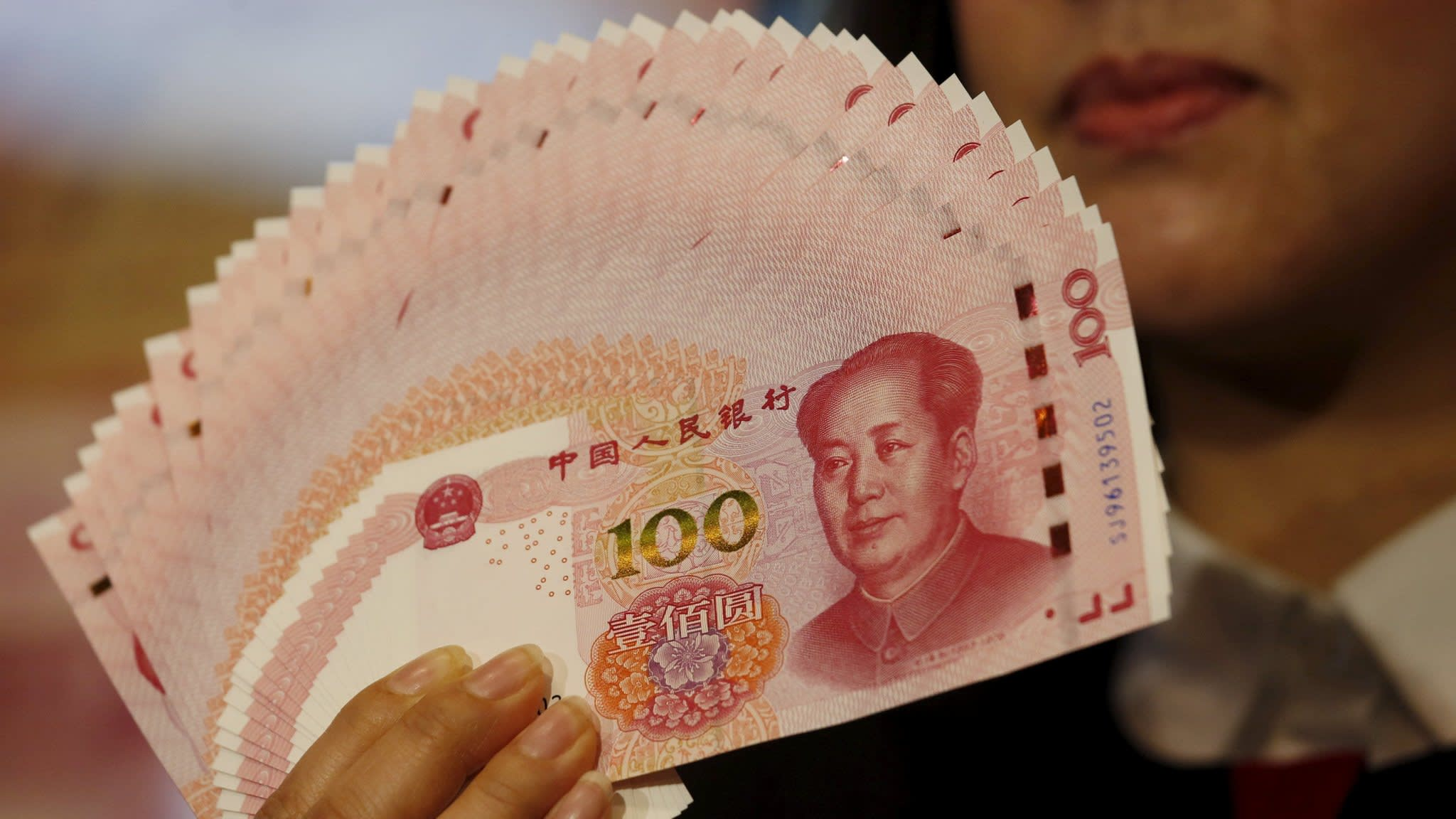 China's central bank injects $74bn into banking system