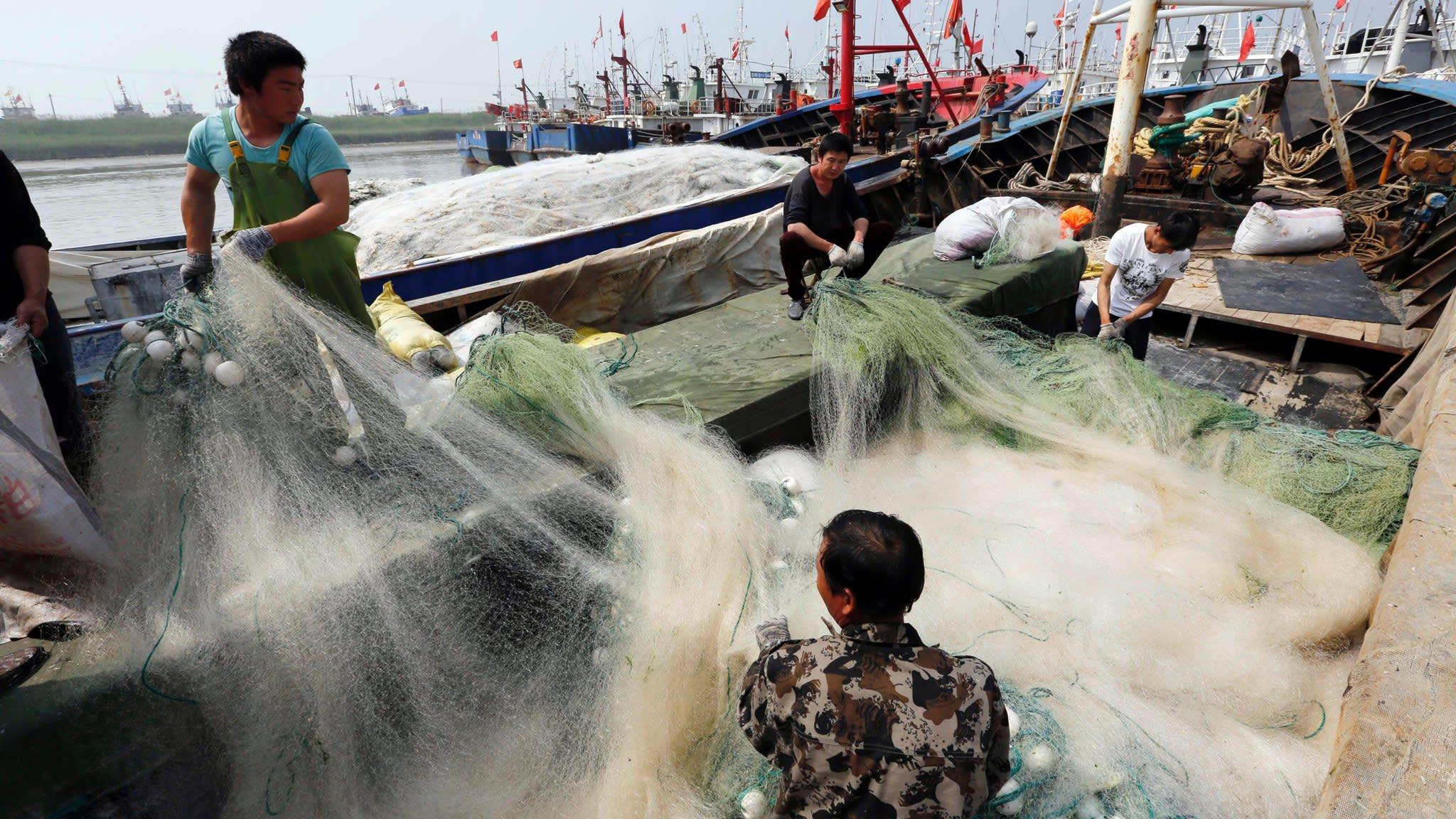 China seeks bigger catch from far-sea fishing fleet