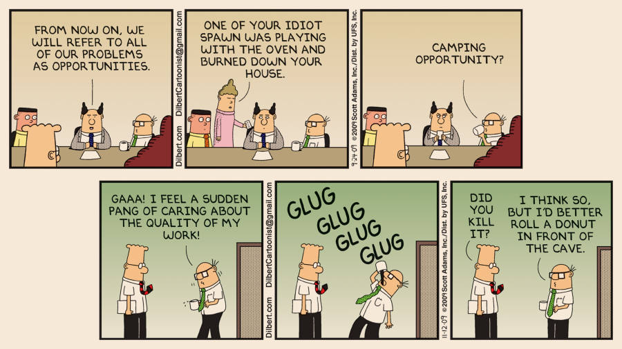 Dilbert To Lose His Tie Financial Times