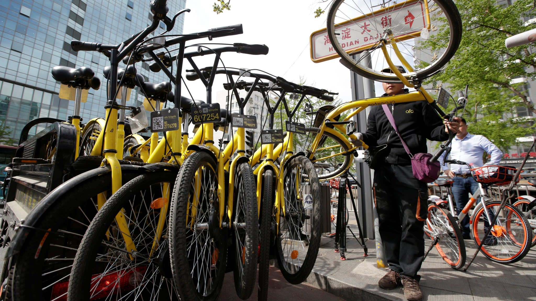 Chinese bike-share group Ofo sued for alleged $10m in unpaid bills
