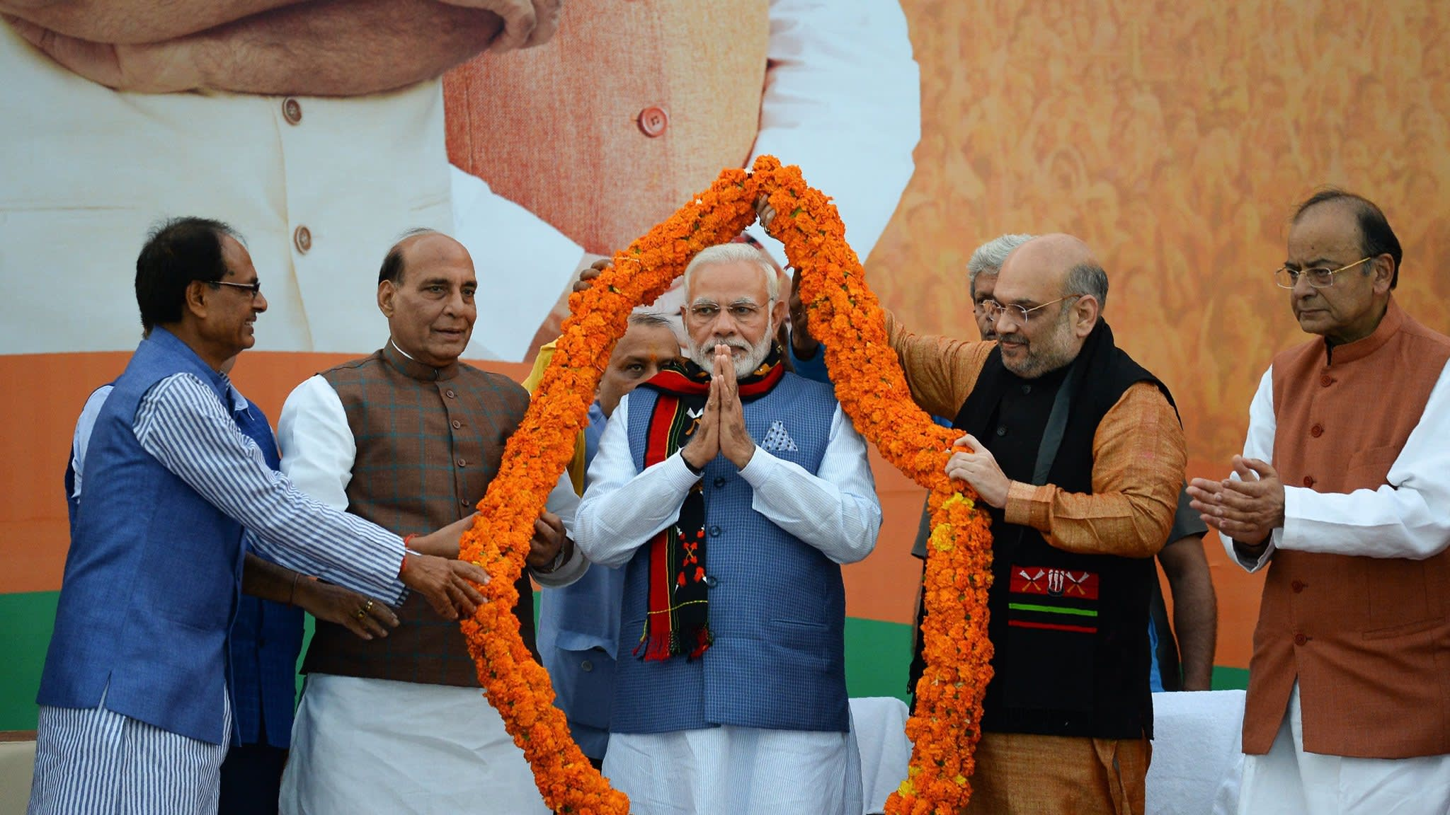 Modi's BJP expands footprint into India's north-east