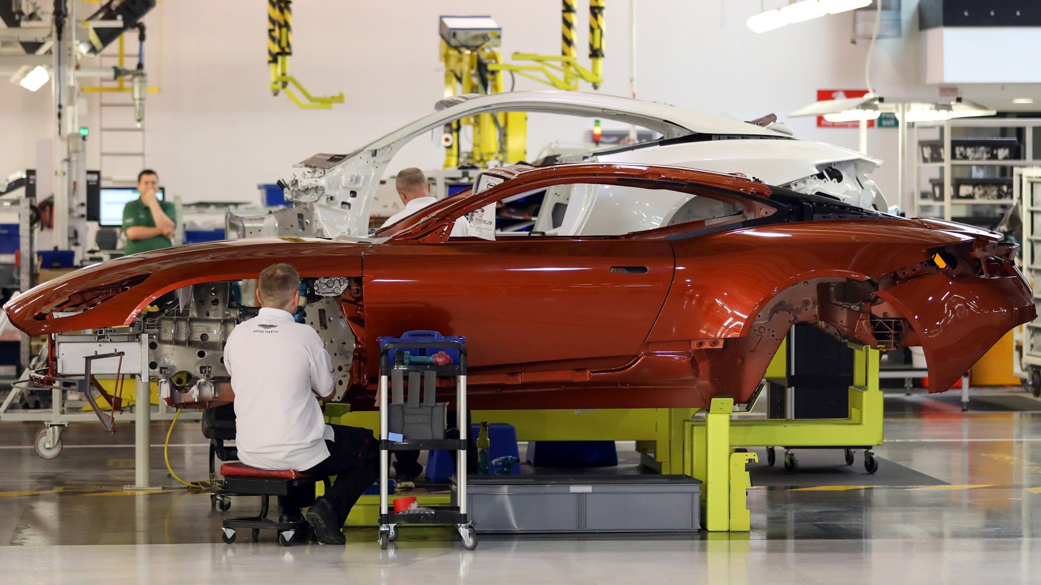 Aston Martin seeks valuation of up to £5bn in London IPO