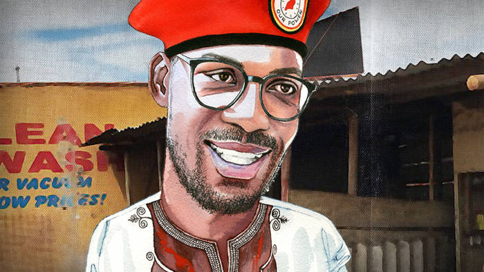 Bobi Wine: 'I will walk you round my ghetto'