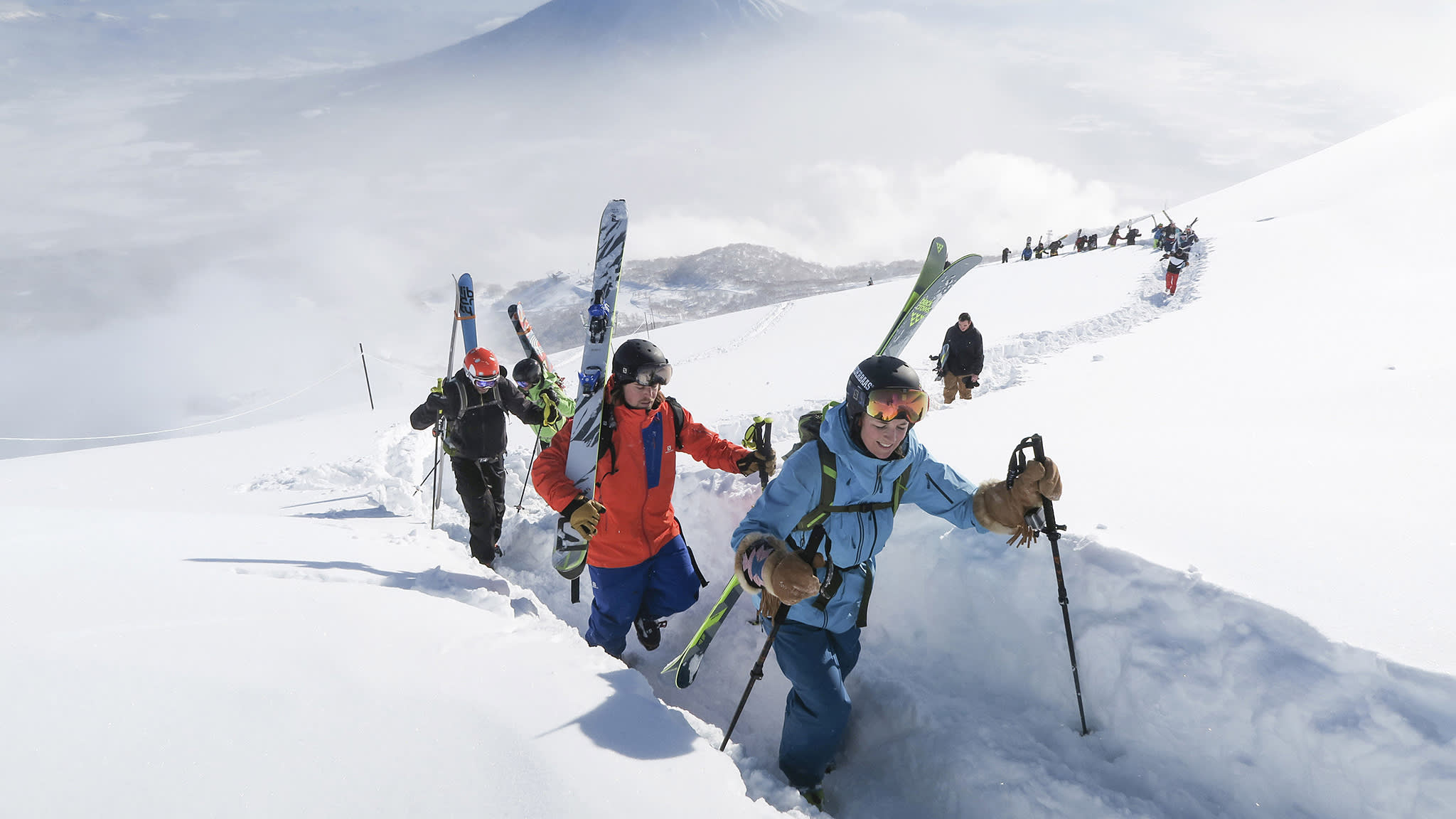 Asia's snowflake generation: China's skiers flock to Japan