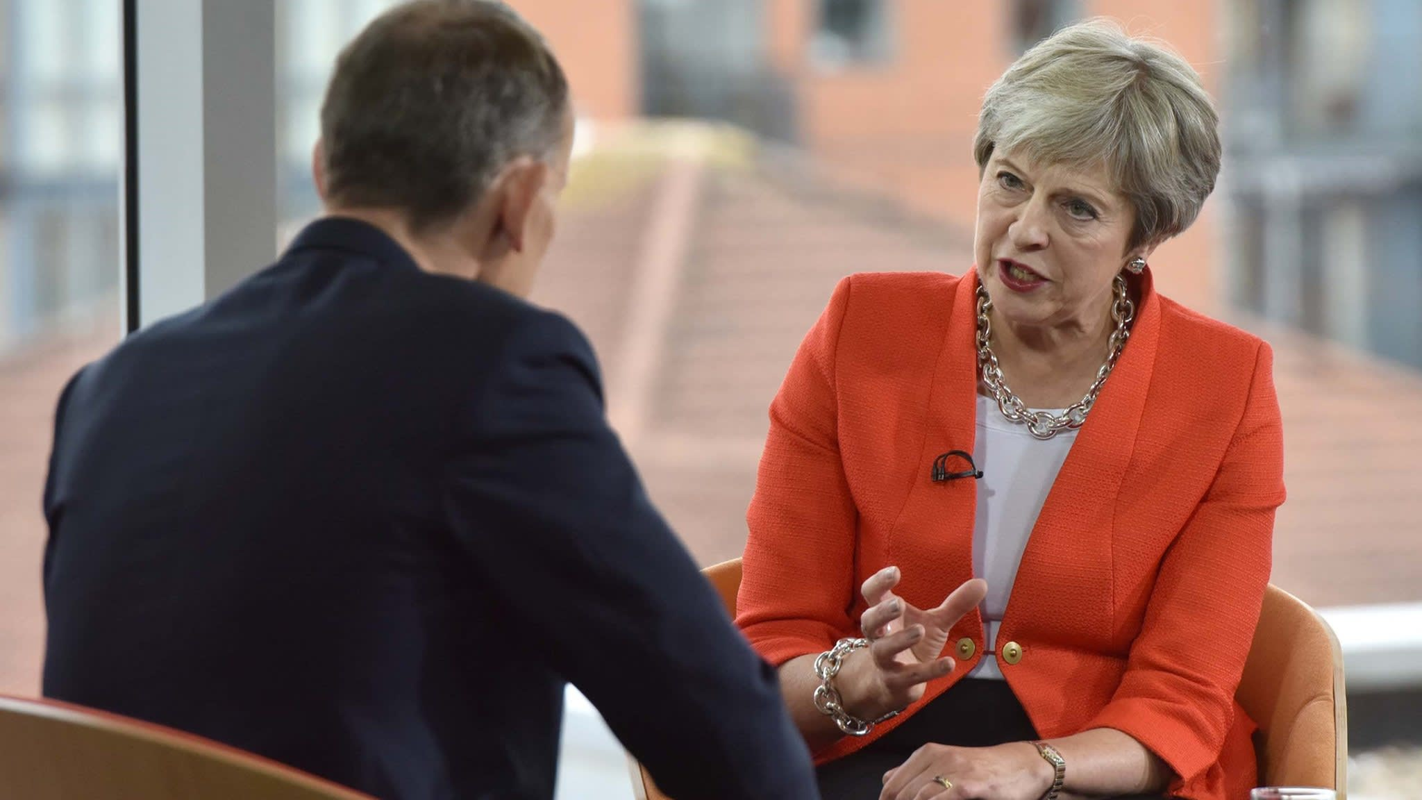 May stands by Brexit blueprint after fresh Johnson attack