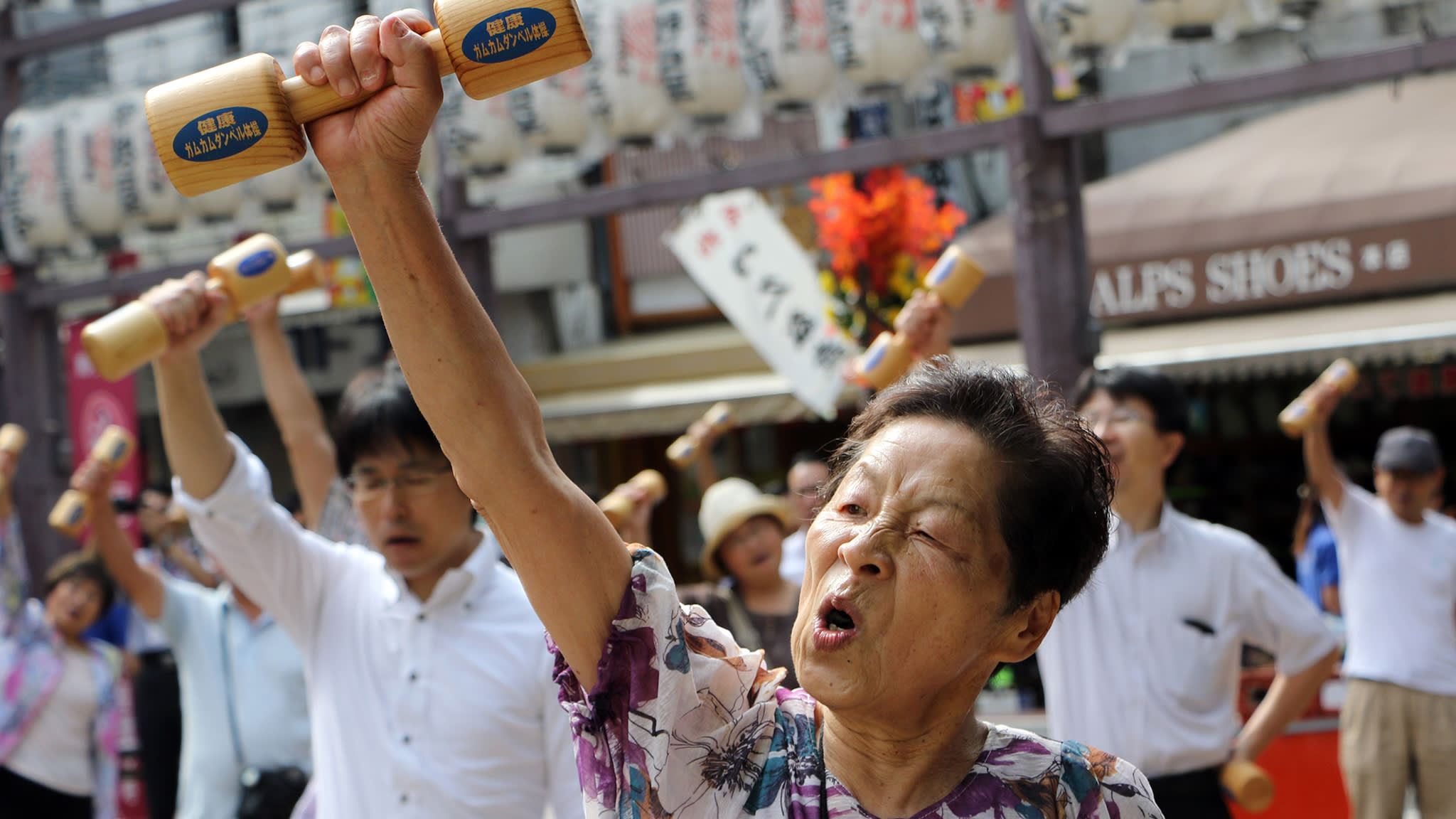 Japan begins to embrace the 100-year life