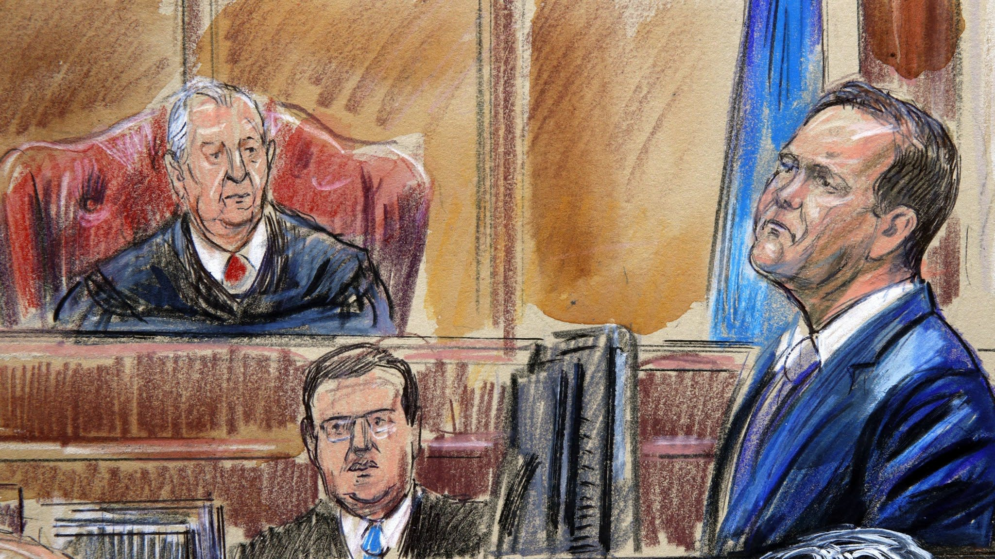Rick Gates faces questions over stealing in Manafort trial