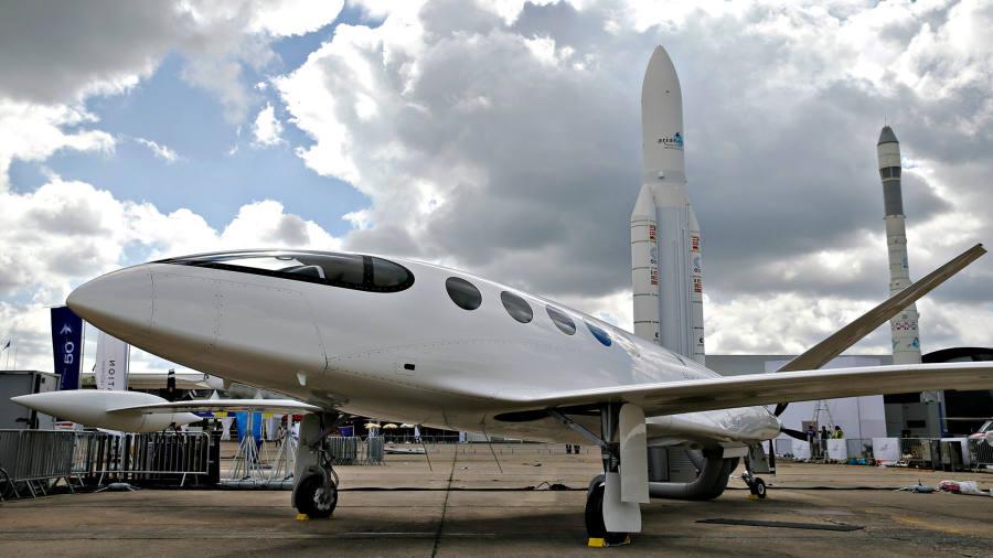 Plane called Alice stars at Paris Air Show
