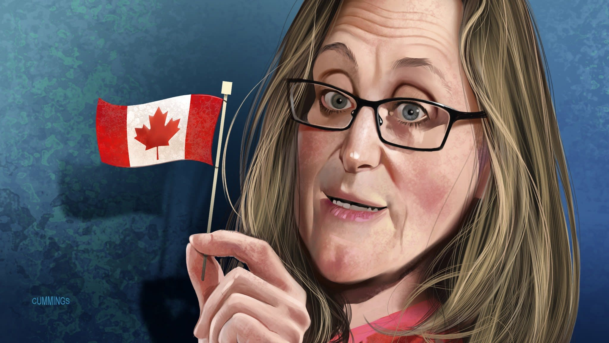 Chrystia Freeland: a whirlwind storms the world stage