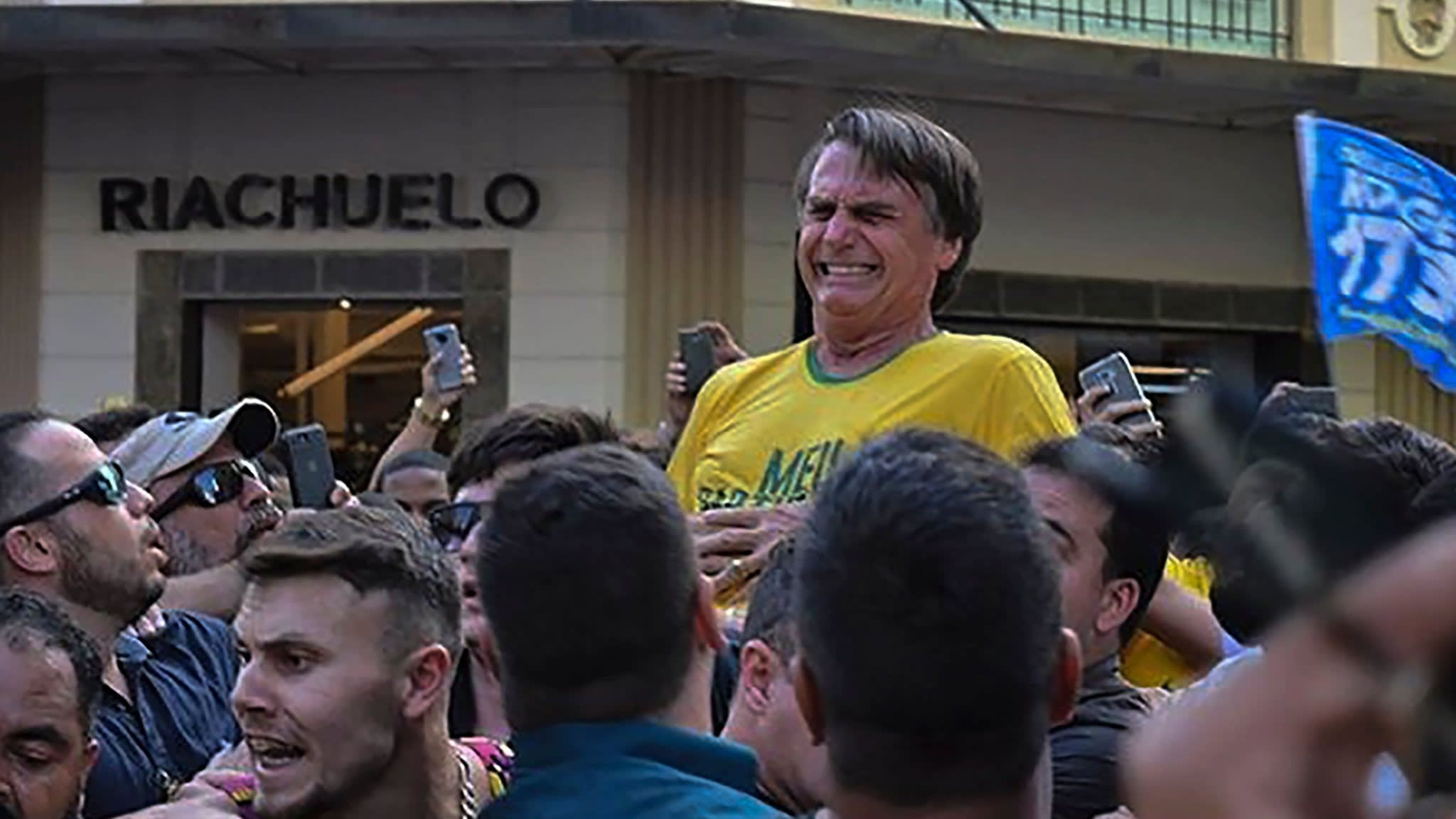 Brazilian presidential candidate Jair Bolsonaro stabbed at rally