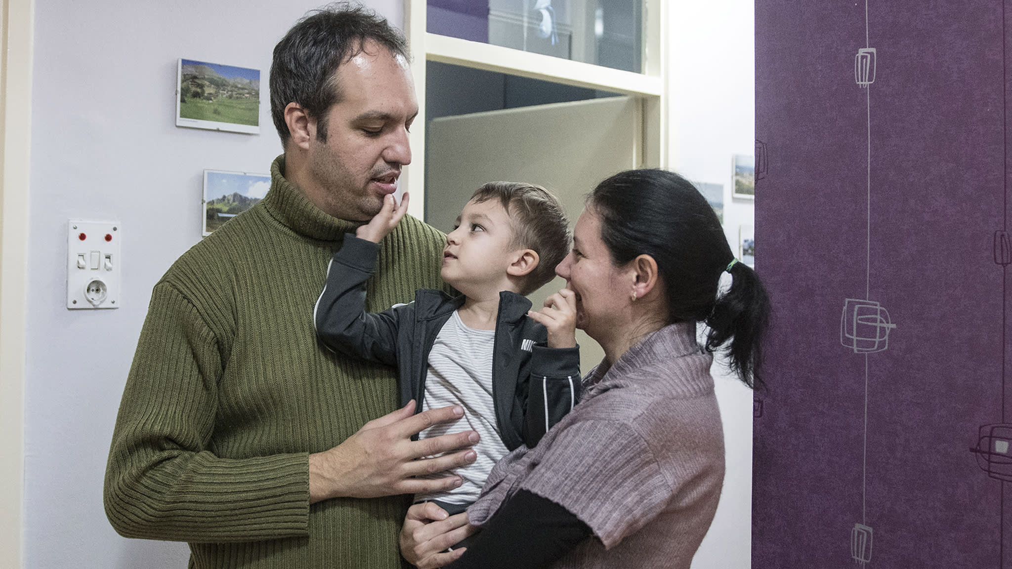 Too cold to live in: how families in Macedonia are rebuilding their homes