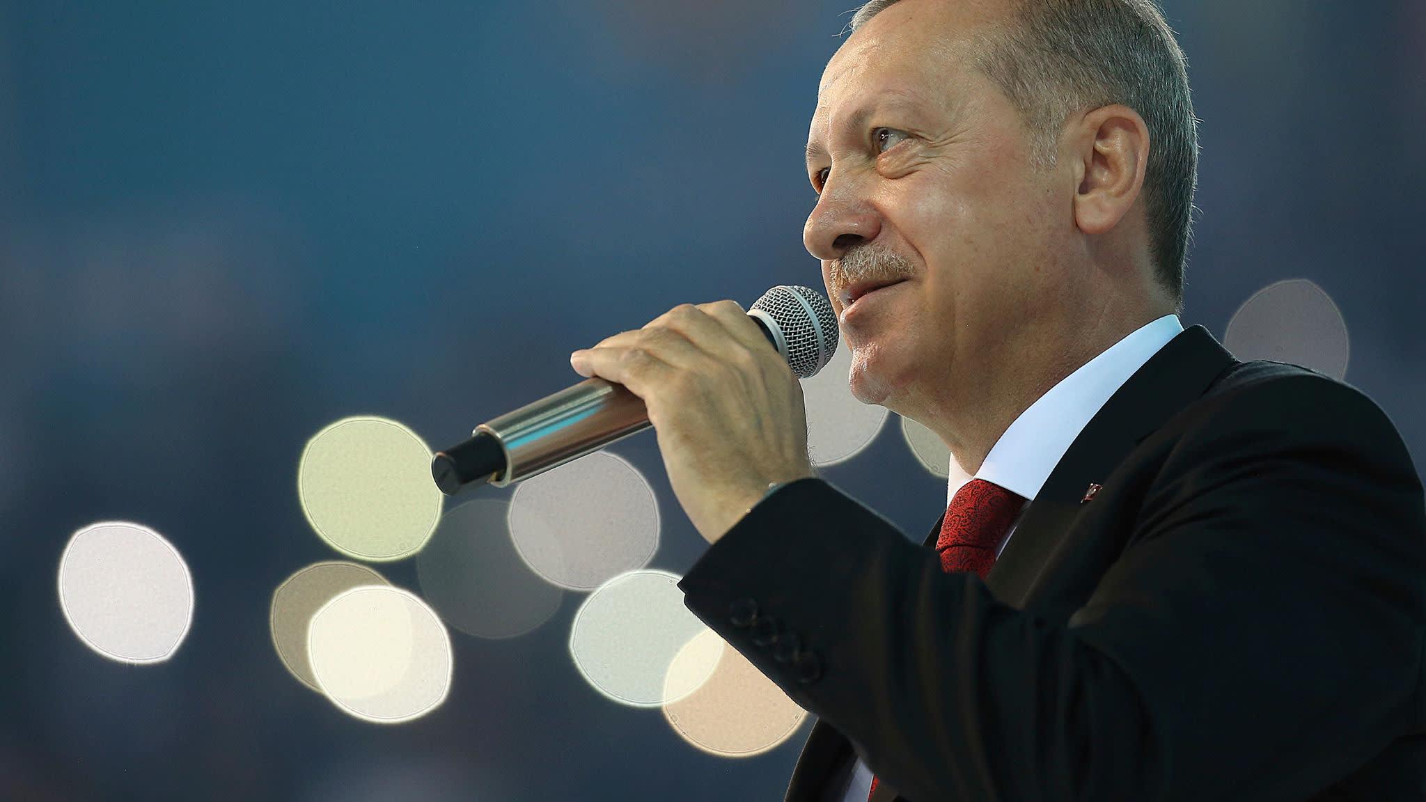 Turkey's Erdogan calls interest rates 'tool of exploitation'