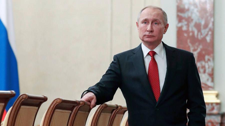 US cites reports Oleg Deripaska helped Vladimir Putin launder cash