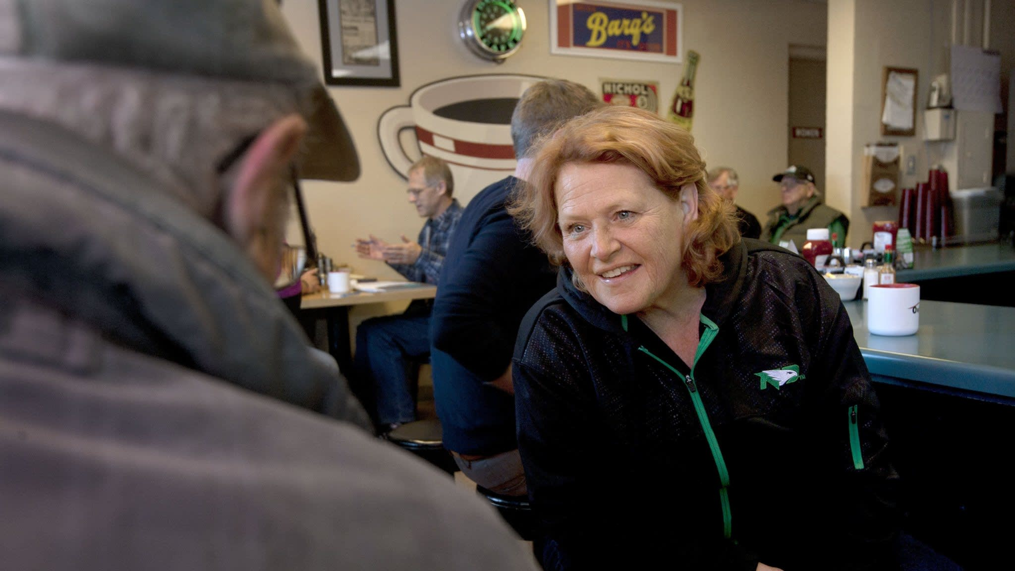 Heidi Heitkamp fights to save Senate seat in North Dakota
