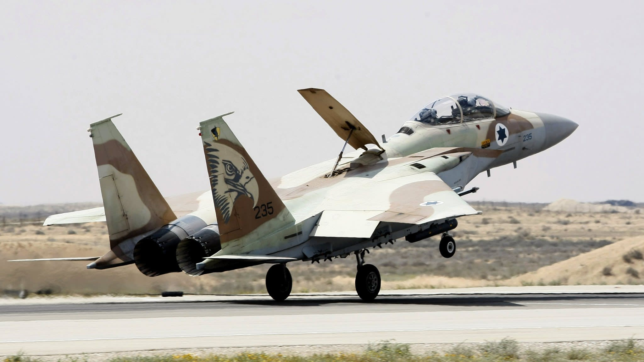 Russia and Syria accuse Israel of bombing air base near Homs
