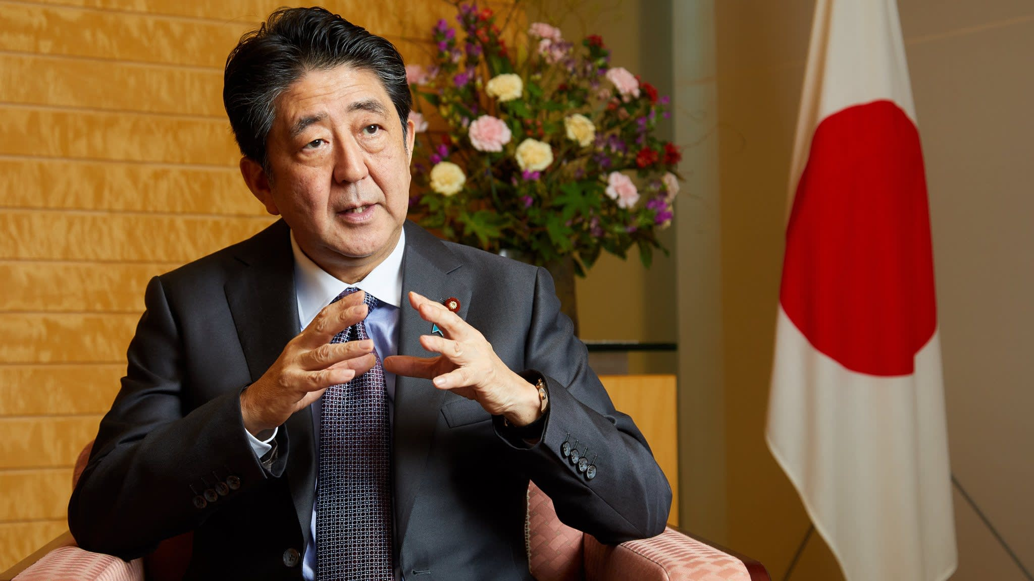UK would be welcomed to TPP 'with open arms', says Abe