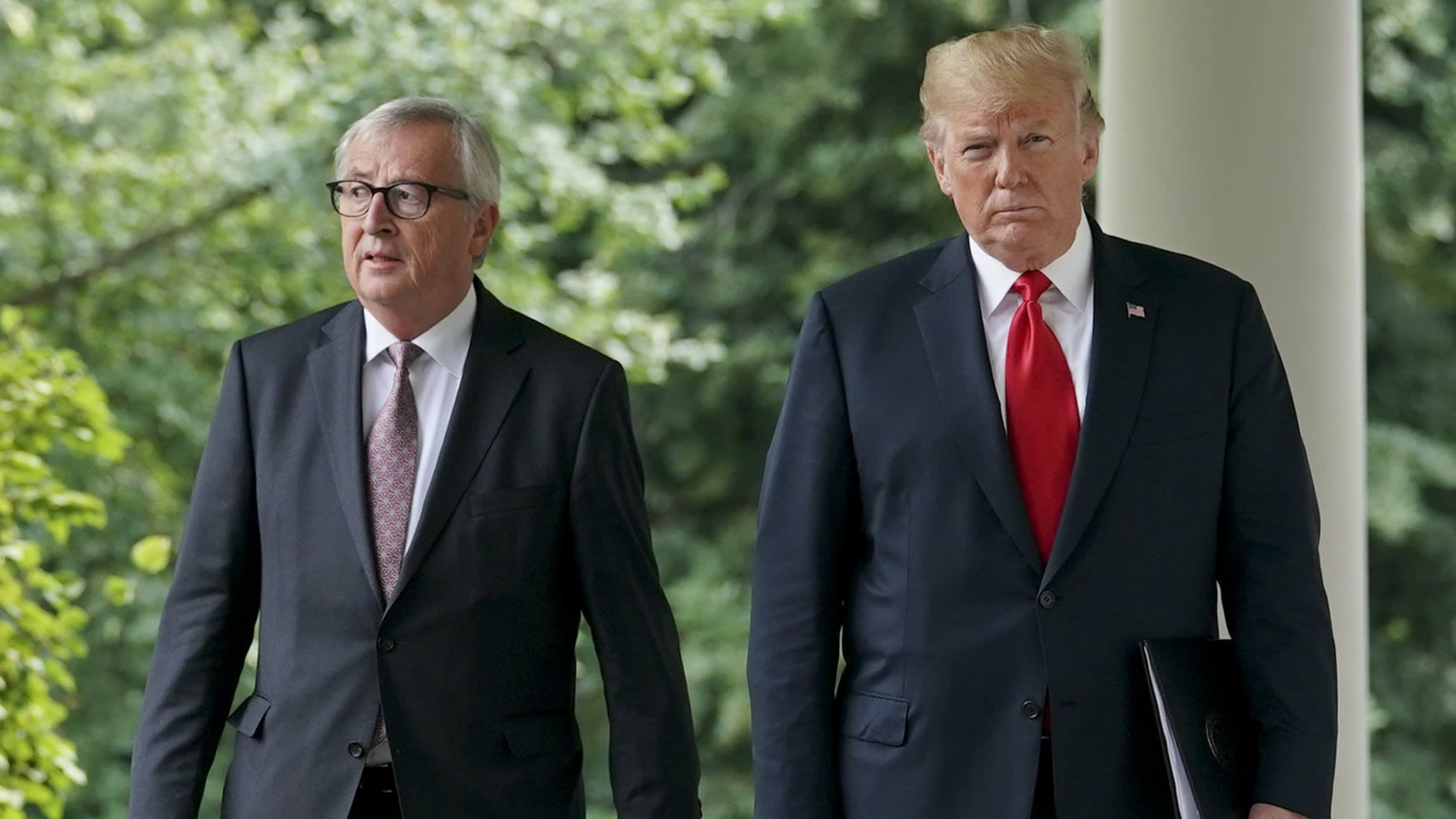 Trump's hopes for EU trade deal hampered by agriculture