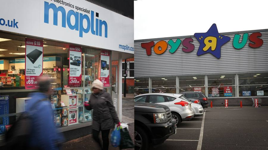 Plight of Toys R Us and Maplin puts 5,500 jobs at risk