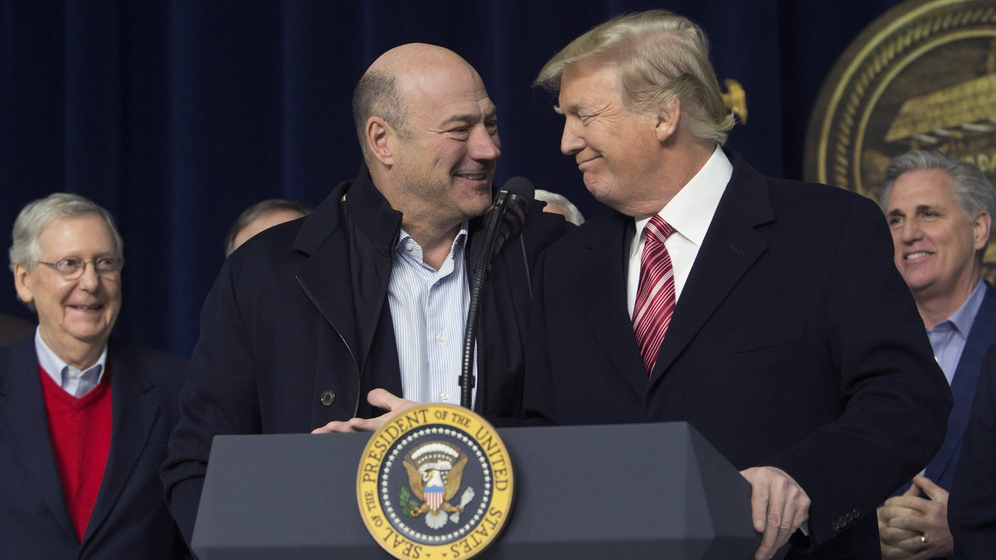 Gary Cohn's exit prompts alarm among business leaders
