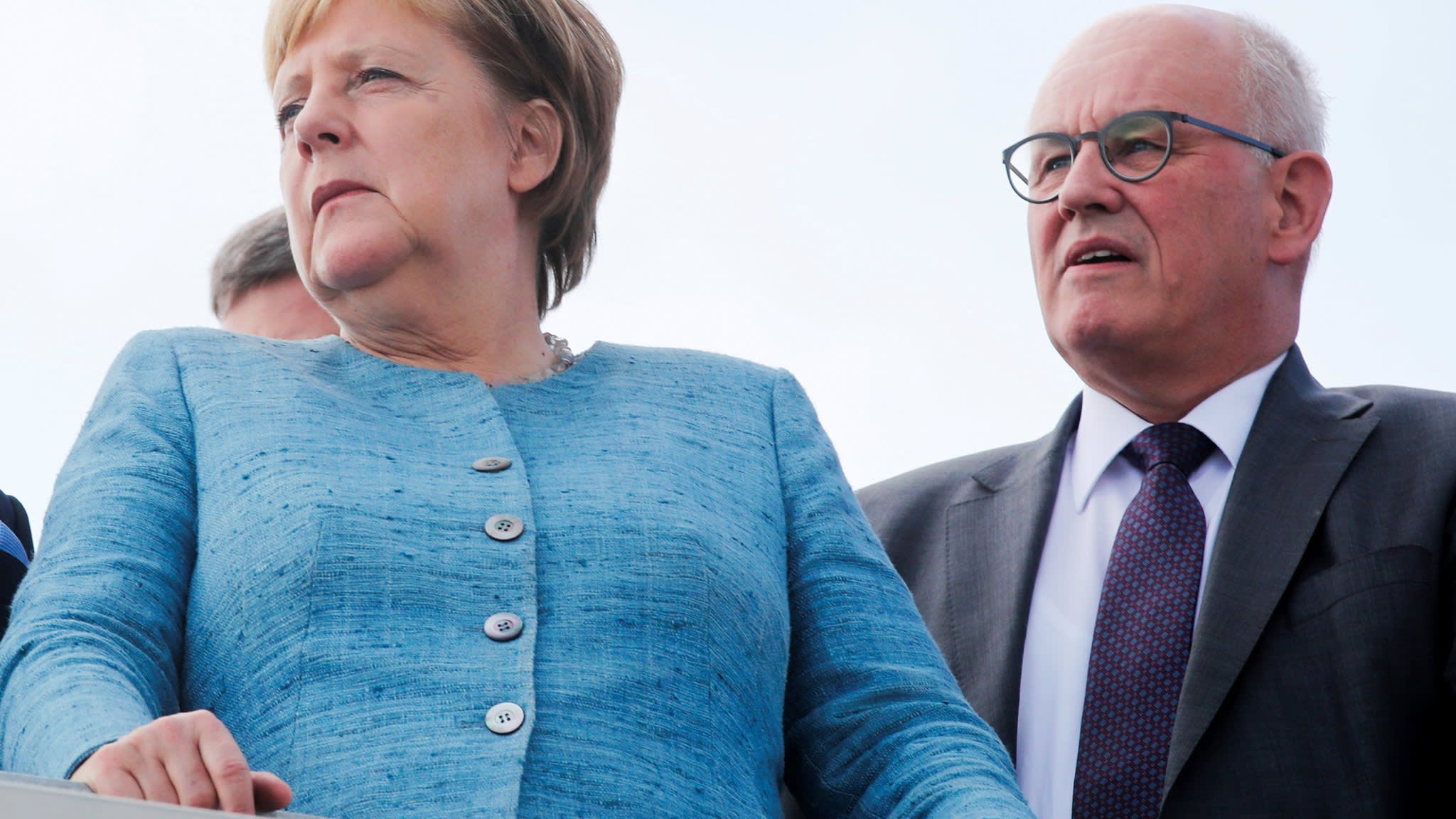 Merkel's loss of right-hand man represents unprecedented revolt