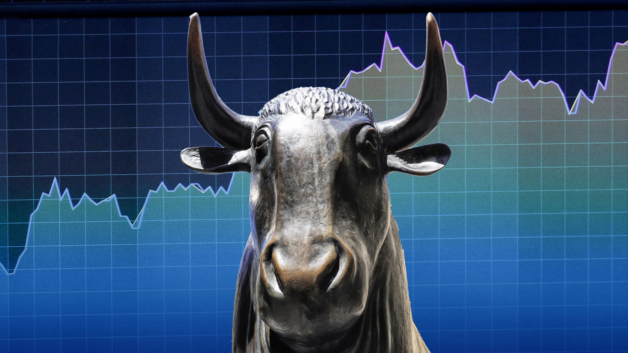 S&P 500 hits new high on way to record bull run