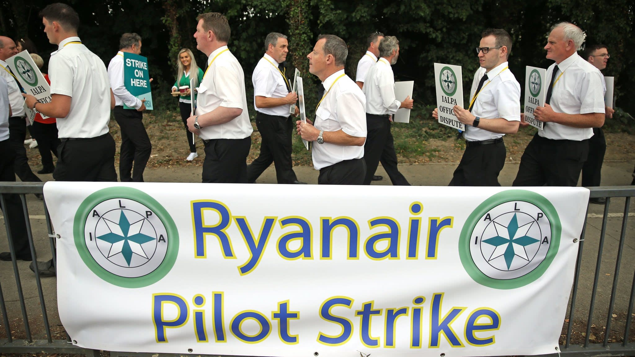 Ryanair warns of job losses from wave of strikes