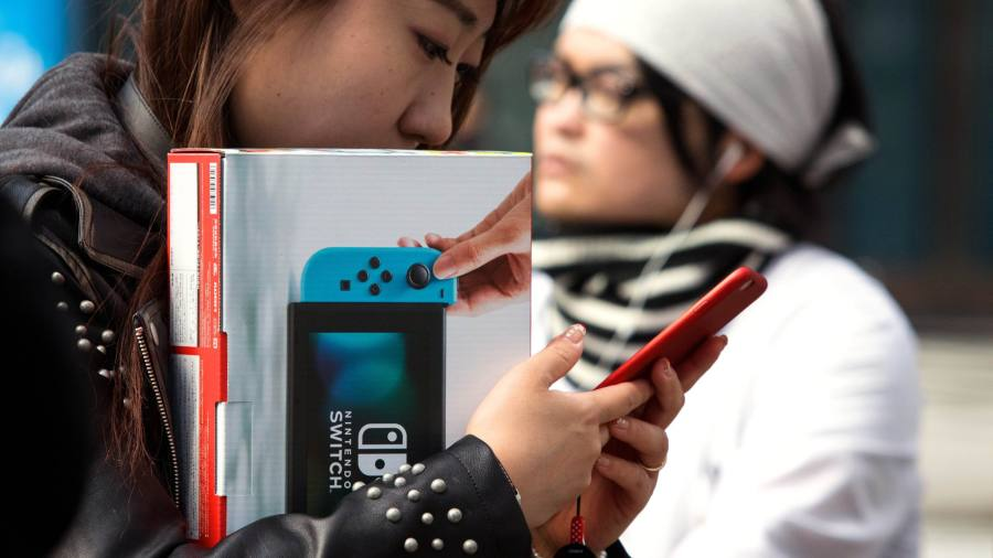 Nintendo and Sony lead charge as games consoles return to