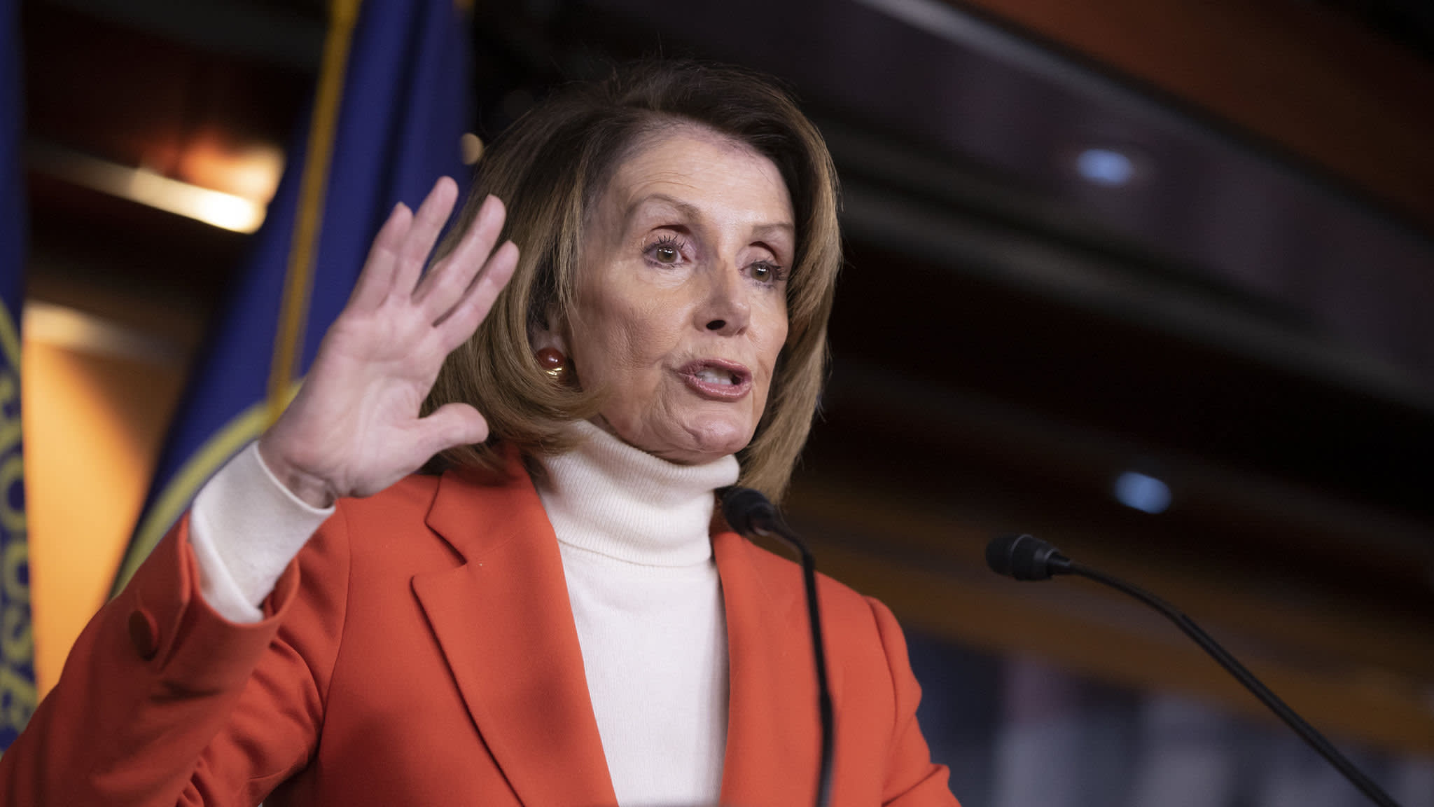 Nancy Pelosi boosts chance of regaining House speakership