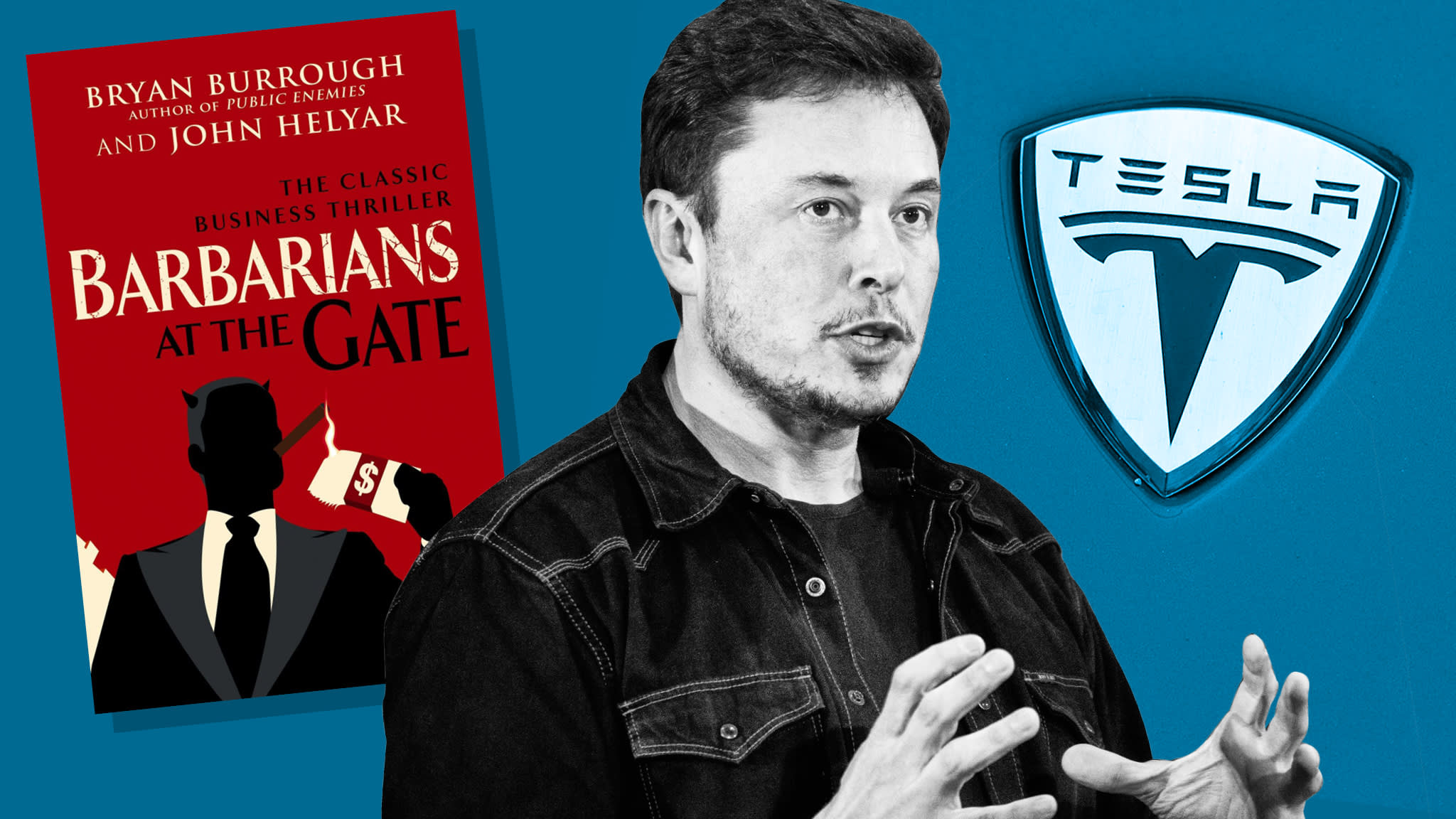 Why Elon Musk should read 'Barbarians at the Gate'