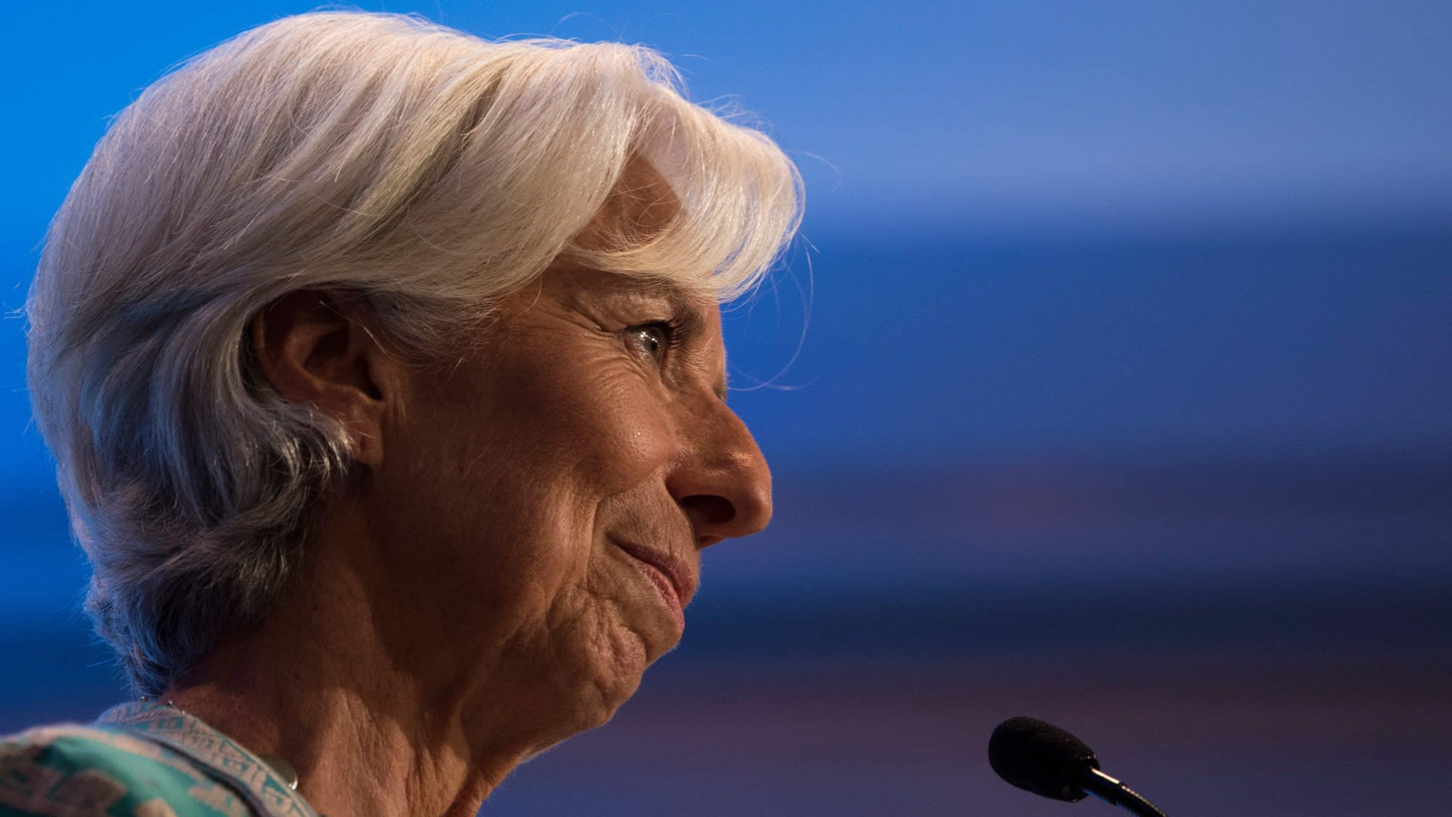 Christine Lagarde rules out any top jobs in the EU