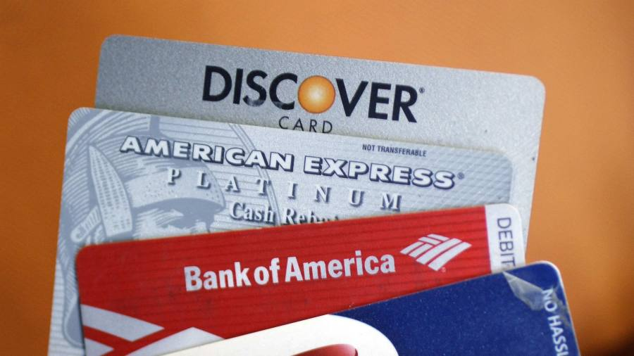 Shares in US credit card companies plunge as expenses rise