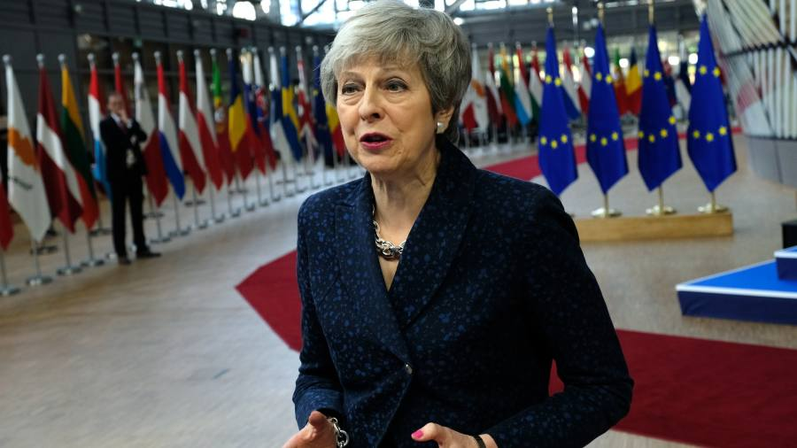 EU prepares to delay Brexit until May 7