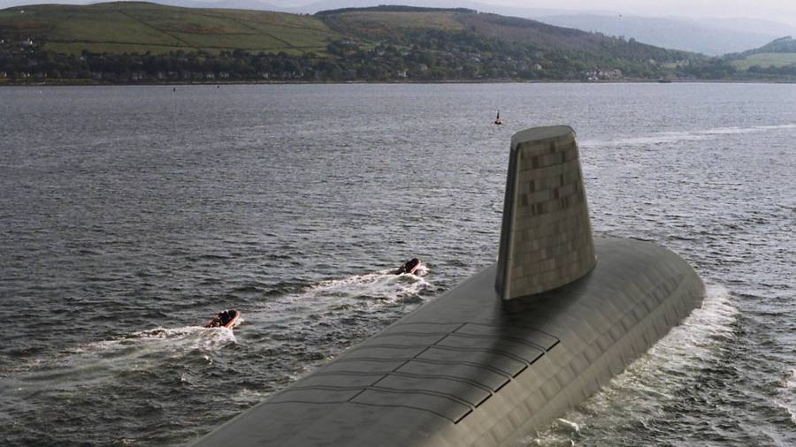 Britain's submarines to use US technology for nuclear warheads