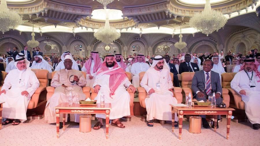 'Davos in the desert' begins as Saudi Arabia seeks to put aside Khashoggi affair