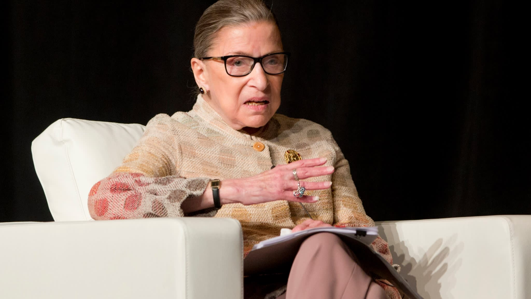 US Supreme Court Justice Ginsburg fractures ribs