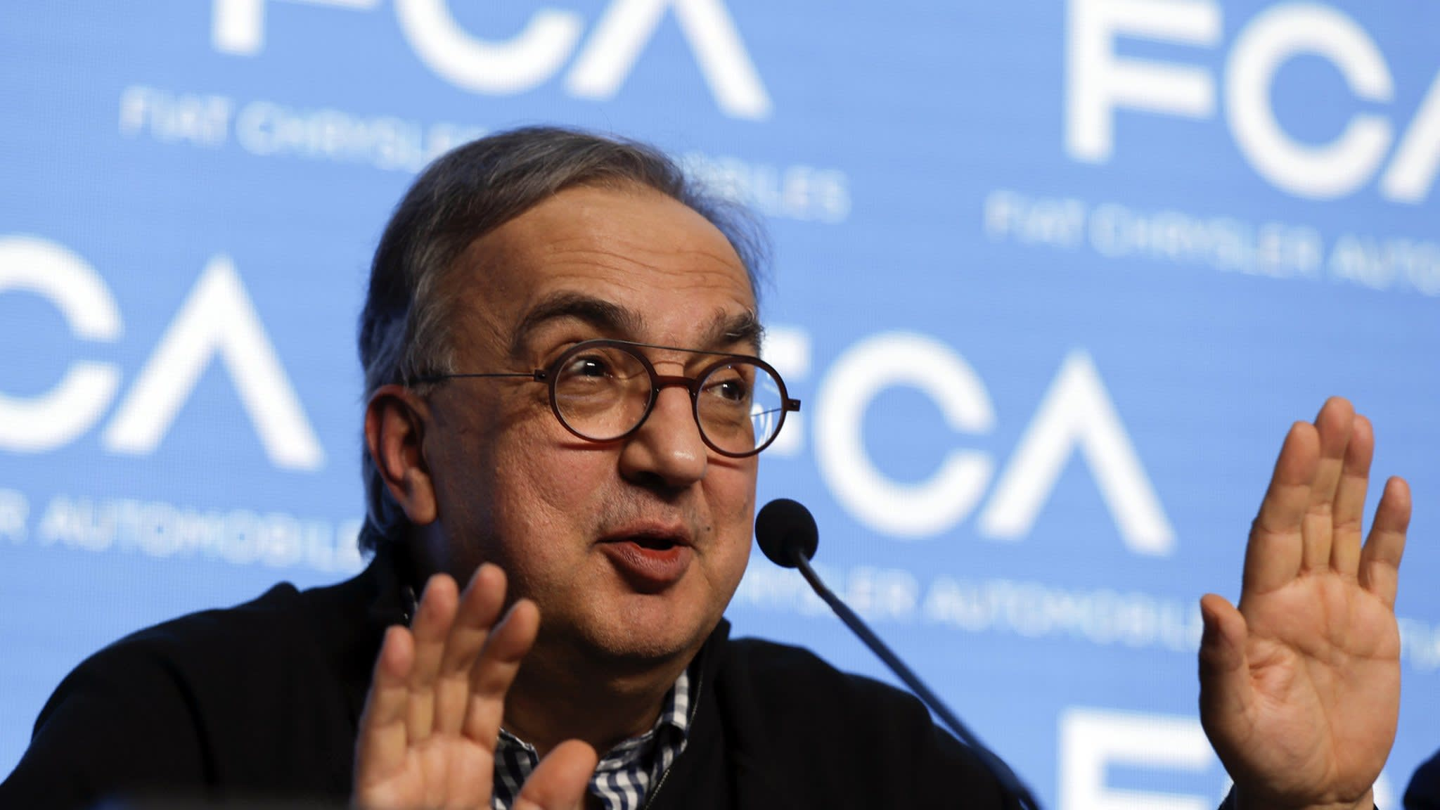 Sergio Marchionne leaves Fiat Chrysler due to ill health