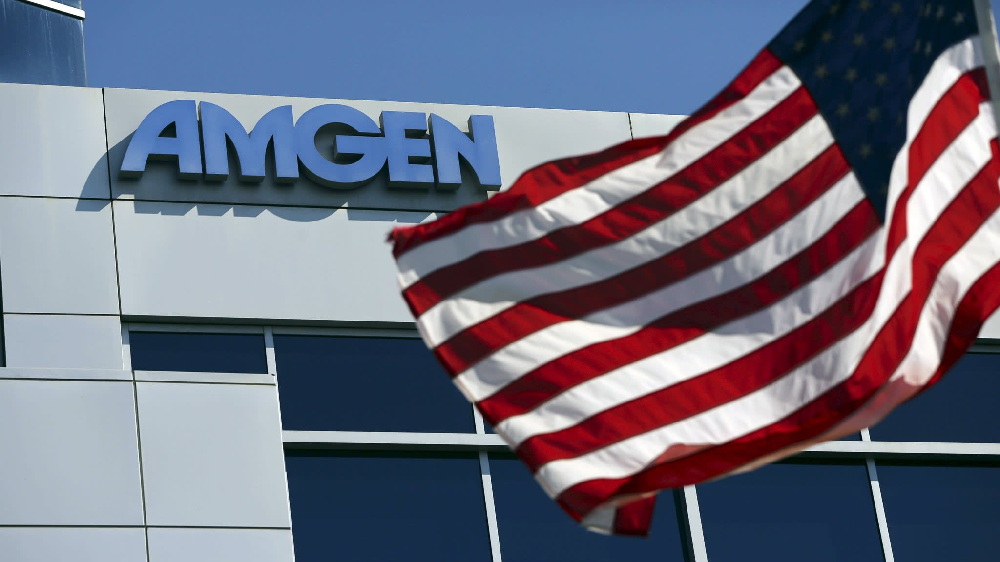 Amgen 'looking hard' at striking deals using $27bn cash pile