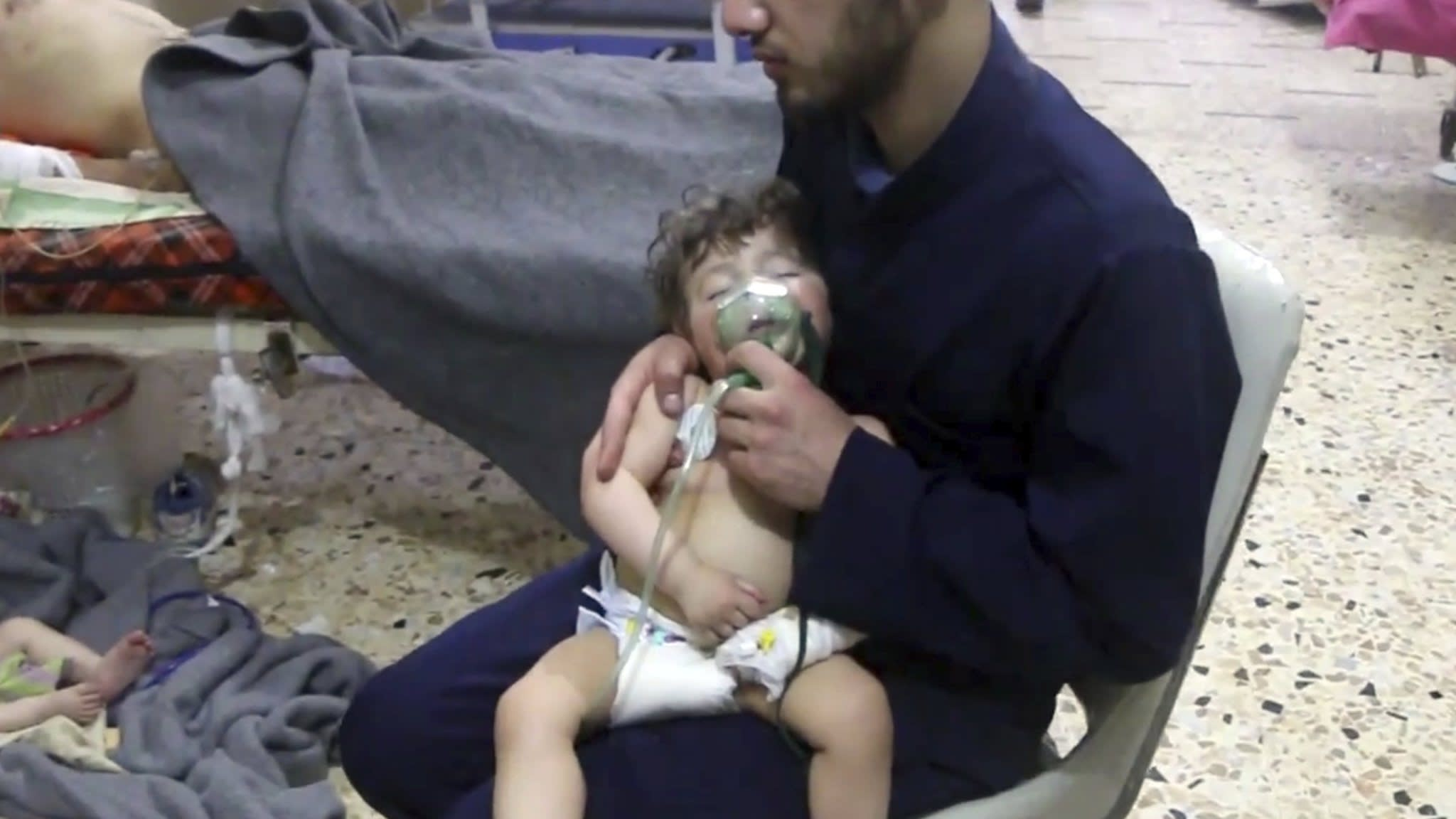 Syria accused of chemical attack on rebel enclave